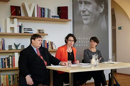 Rozhovory přes hranici - s Berndem Posseltem a Kateřinou Šafaříkovou v Knihovně Václava Havla
