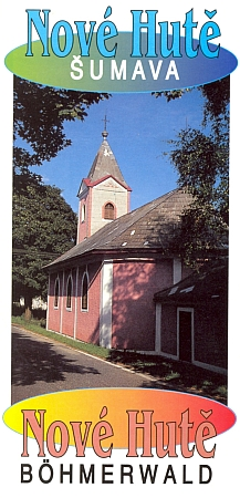 Prospekt Nových Hutí, v jejichž kostele se už několikrát konaly varhanní koncerty na Jüstelův nástroj
