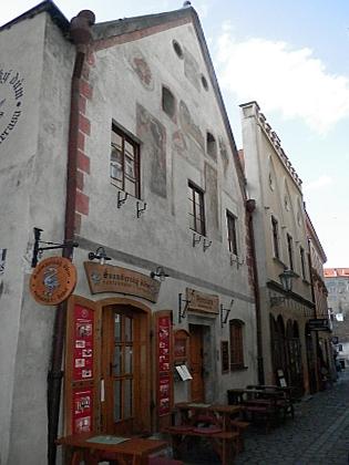 Domy čp. 35 a 39 v českokrumlovské Soukenické ulici