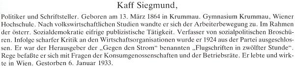 Připomínka jeho jména v monografii Ruperta Essla o Českokrumlovsku