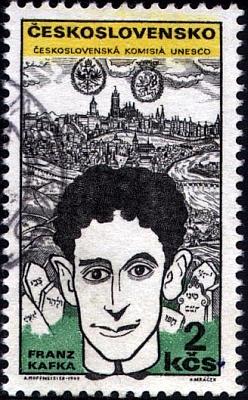Jeho podoba na poštovních známkách státu Izrael a Československa (ta československá s kresbou Adolfa Hoffmeistera)