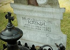 Hrob na klášterním hřbitově v Heiligenkreuz
