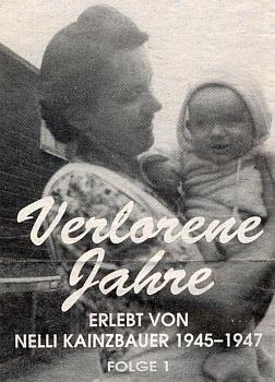 Záhlaví a úvodní odstavce jejího textu o zážitcích z let 1945-1947, který vycházel na pokračování v rokouském krajanském listě