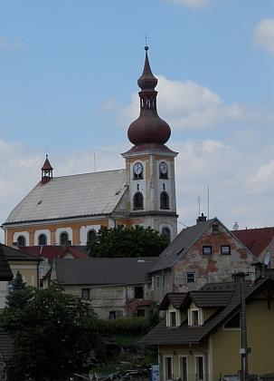Skalná, rodiště Sigmunda von Birken