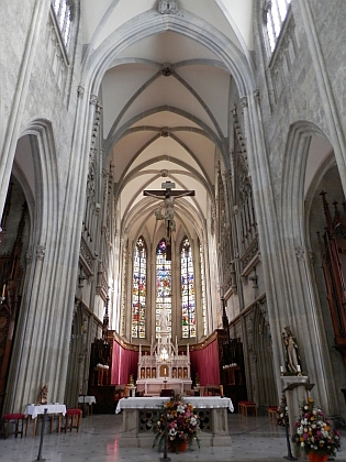 Benediktinský klášter Admont, kde studoval
