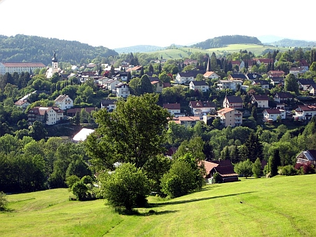 Rodné Grafenau, kde sídlí správa Národního parku Bavorský les