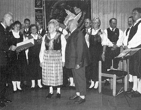 Odměněna s manželem medailí Josefa Tascheka