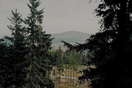 Chlum z Lysé na snímku z října 2008