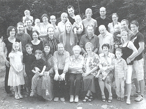 Rodinné setkání v létě 2009 ji učinilo svým středem