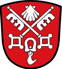 Znak bavorské obce Anger, kde žila a kde je pochována
