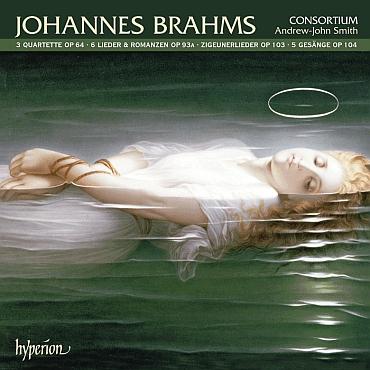 Obálka (2007, Hyperion Records) nahrávek z děl Johannese Brahmse, některých i na texty Kapperových překladů zesrbské poezie