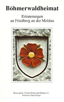 Obálka sborníku (1990) vydaného nakladatelstvím Glaube und Heimat s jeho nářečními verši