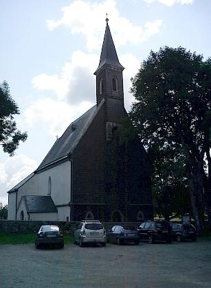 Kostel ve Svatém Tomáši na snímcích z roku 2011