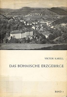 Obálky (1968 a 1971) dvou svazků jeho obsáhlé práce o Krušnohoří z nakladatelství Viergespann ve Frankurtu nad Mohanem