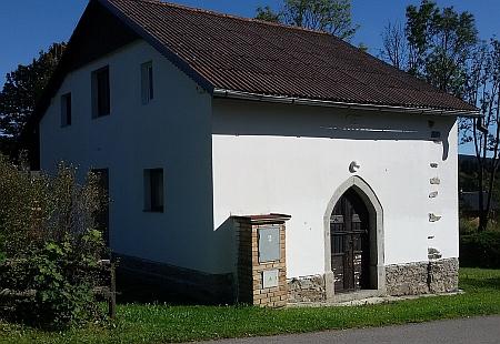 Někdejší kaple přestavěná na rekreační dům