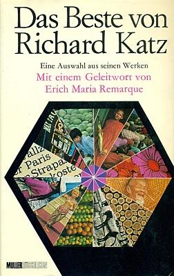 Obálka (1968) k výboru z jeho díla z nakladatelství Albert Müller Verlag Rüschlikon-Zürich,     s předmluvou, kterou napsal Erich Maria Remarque