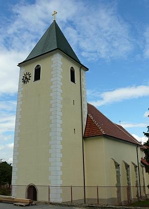 Höhenberg s farním kostelem sv. Jakuba Většího