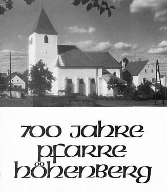 Obálka (1980) knihy vydané farním úřadem Höhenberg
