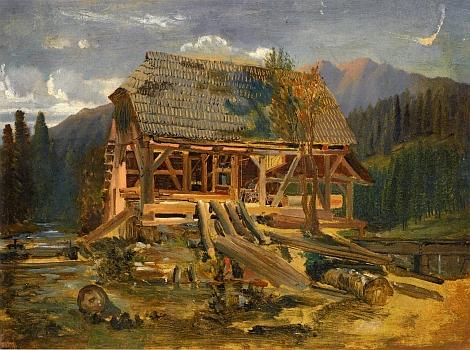 Pila v horách (Motiv ze Šumavy) je název obrazu Josefa Navrátila (1798-1865), který je součástí sbírek Národní galerie v Praze