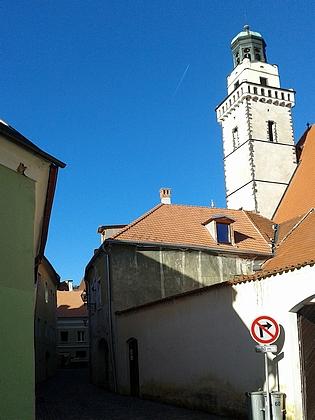 """O Věžní ulici v Prachaticích, která v letech 1938-1945 nesla jméno """"Kernstockgasse"""""""