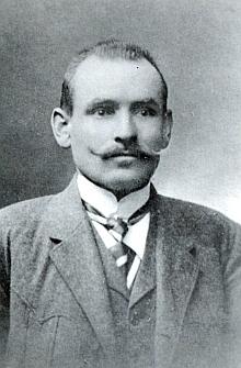 Předčasně zemřelý Franz Treml a jeho žena Marie, roz. Přibilová, všeobecně v Knížecích Pláních zvaná Treml-Mutter