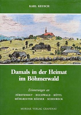 Obálka (1992) jeho knihy vydané nakladatelstvím Morsak v Grafenau