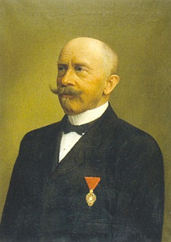 Ve výtvarné sbírce Regionálního muzea v Českém Krumlově je dochován i tento portrét Franze Khemetera