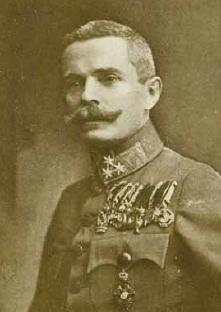 Plukovník Rudolf Kiesswetter, velitel 91. pěšího regimentu