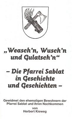Obálka a titulní list (1994) jeho rodáckého sborníku