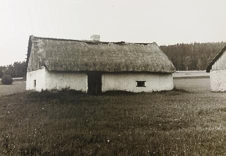 Pazderna v Jenišově na snímku z roku 1943
