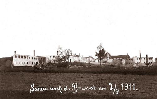 Kyselov po požáru ze září 1911