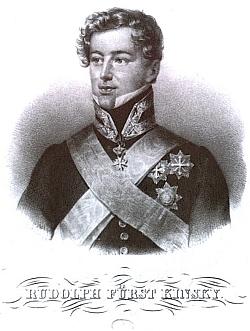 Rudolph Fürst Kinsky von Wchynitz und Tetau