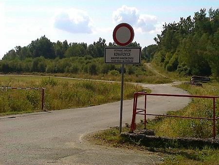 Kovářovice dnes (2015) - po dřívějším osídlení nezůstaly v terénu sebemenší stopy