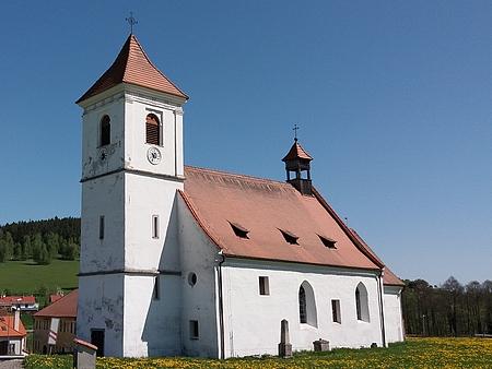 Kostel sv. Martina v Polné dnes...