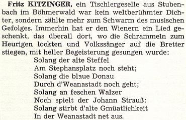 """Zmínka o něm v knize Huberta Partische o Rakušanech """"sudetoněmeckého kmene"""""""