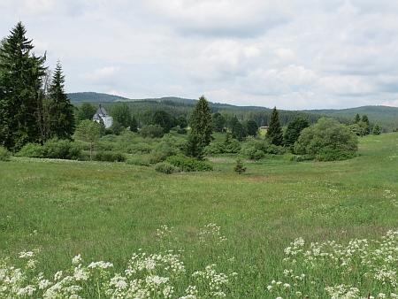 Kraj kolem Pohoří na Šumavě v roce 2013