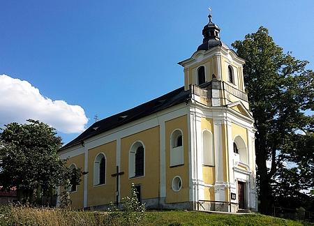 Kostel sv. Jana Nepomuckého v Nemanicích