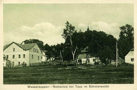 Další stará pohlednice Nemanic