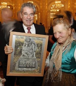 S rakouským prezidentem Heinzem Fischerem na snímku z prosince roku 2010