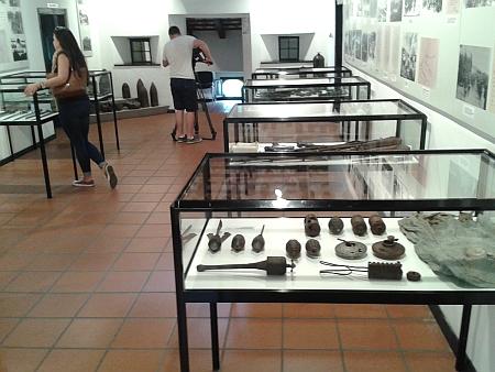 Z expozice 12. bitvy na řece Soči v muzeu ve slovinském městě Kobarid
