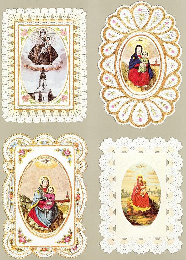 Čtyři svaté obrázky od Svatého Kamene...