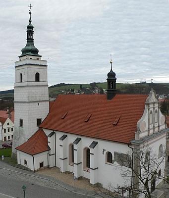 Arciděkanský kostel sv. Petra a Pavla v Horšovském Týně