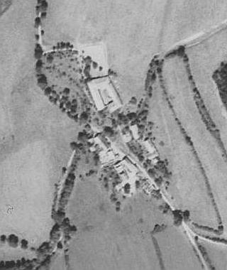 Hora na leteckých snímcích z let 1952 a 2008
