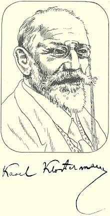 Kresba Cyrila Boudy pro edici Slunovrat