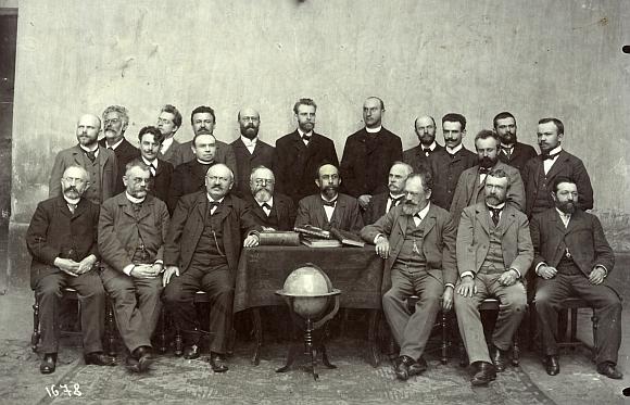 Mezi profesory německé reálky v Plzni