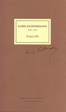 Obálka (2008) soupisu díla vydaného Jihočeskou vědeckou knihovnou