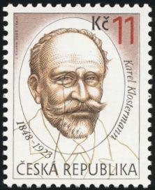 Na poštovní známce k jeho jubileu
