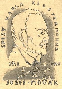 Na exlibris od Jiřího Vláčila z roku 1948