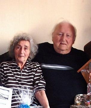 S manželkou Annou o svých pětaosmdesátinách