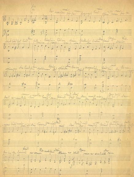 Jeho hudební doprovod vlastních veršů o Renatce